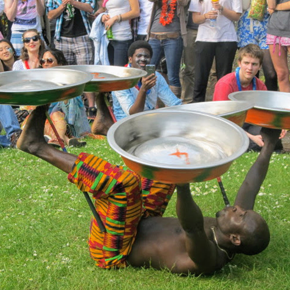 Hire Zulu Entertainment with Acrobats