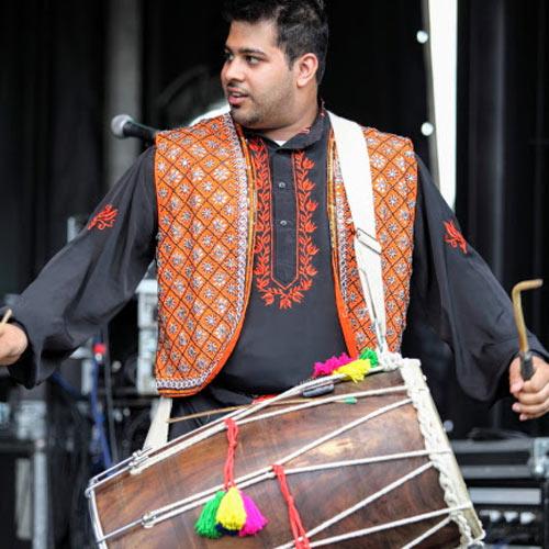 Hire Indian Dhol Drum Entertainment